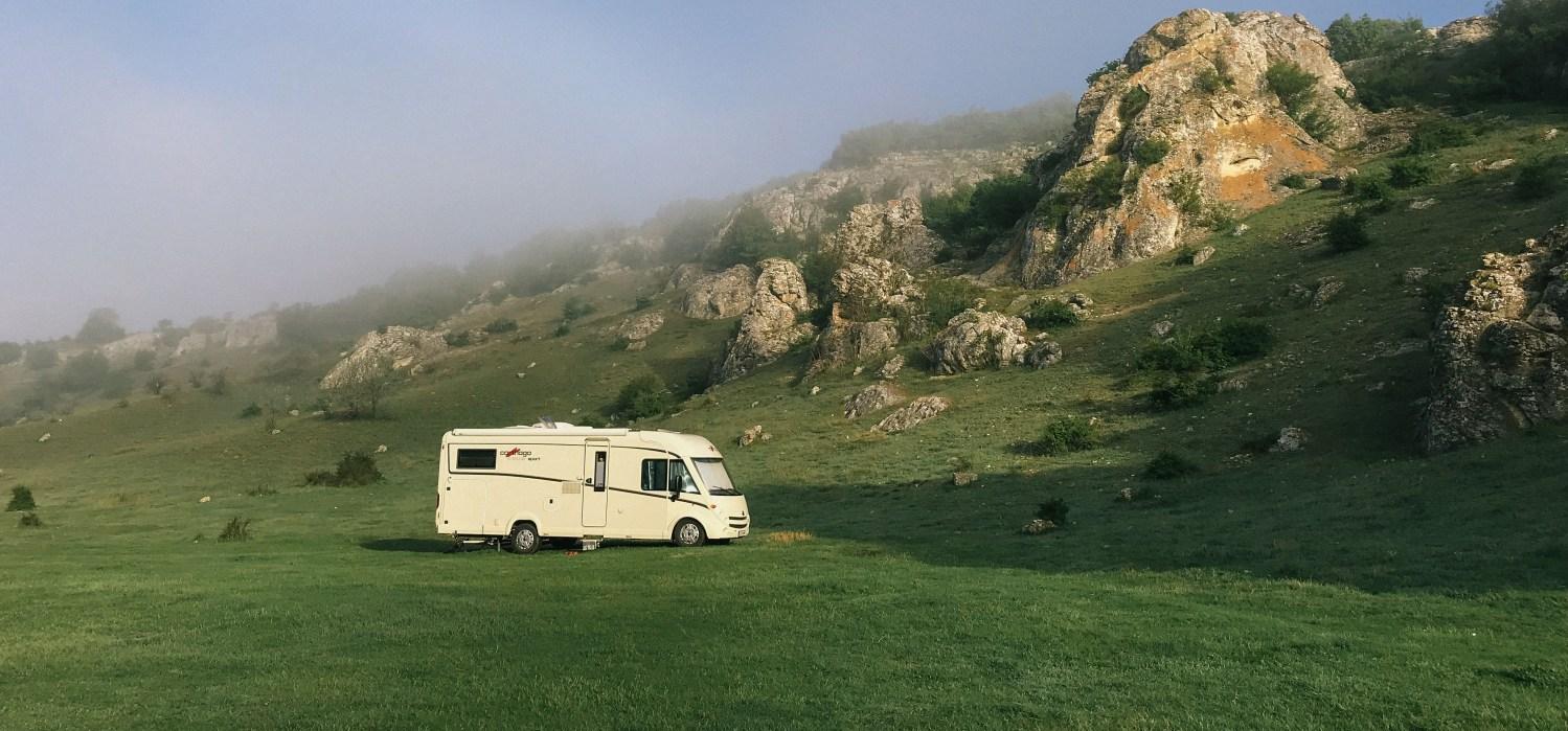 eco friendly RV travel camping car travel