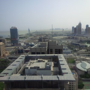 Visual evidence of smog in Dubai