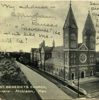 Our college's founding monks first built a beautiful church.