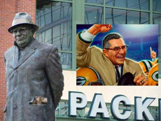 Vince Lombardi (1913-1970), Knight of Columbus, coached the Green Bay Packers to five league championships in seven years and two Super Bowl wins. He prayed that each communion might serve as his viaticum if he died.