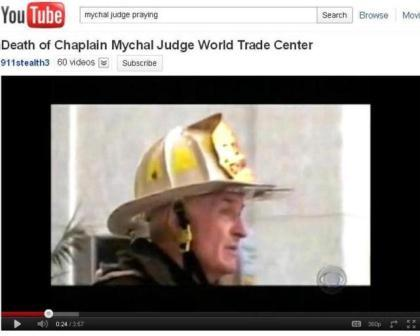 Father Mychal Judge gave general absolution to firemen, then died with them.