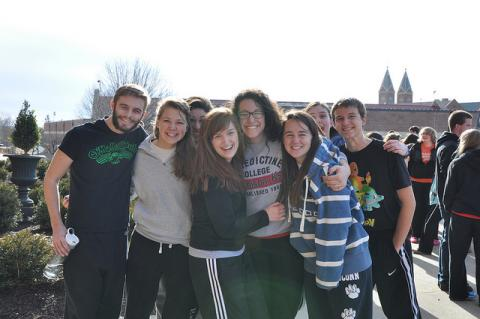 Students have organized the Benedictine trip from the beginning and organize it still.