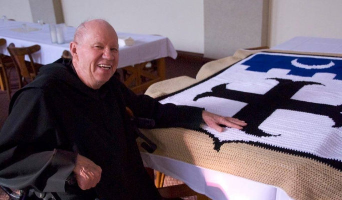 Father Bruce Swift, OSB died on Christmas Day, 2014. He was 82 years old.