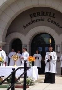 Corpus Christi 2014, Benedictine College campus.