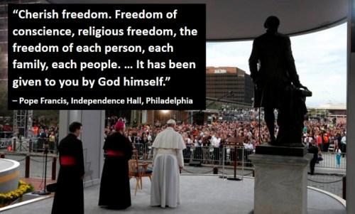 francis freedom