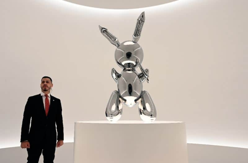 0052fca1eaff6d685b233a795a44668303676899 - Jeff Koons work sells for $91.1 million, record for living artist