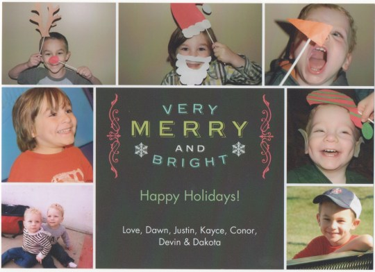 Grimm Christmas Card 2012
