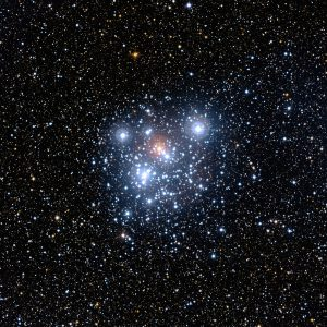 "The ""Jewel Box"", a cluster of stars in the Southern Cross - see what we did there?"