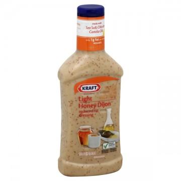 Kraft Salad Dressing Honey Dijon Light