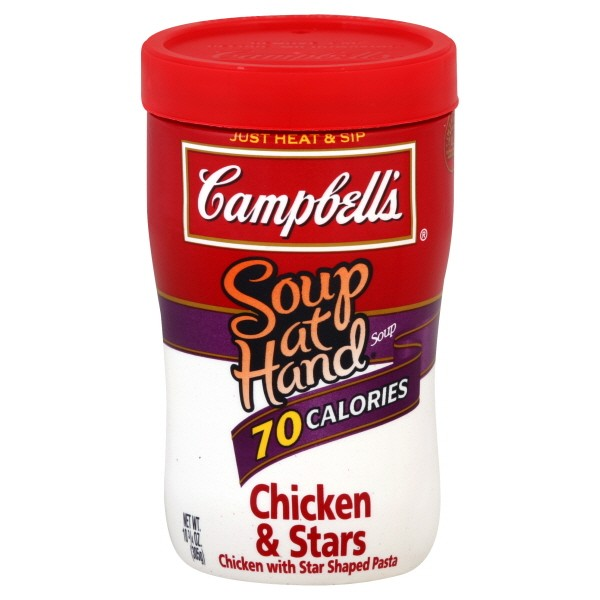 campbell s soup at hand chicken stars