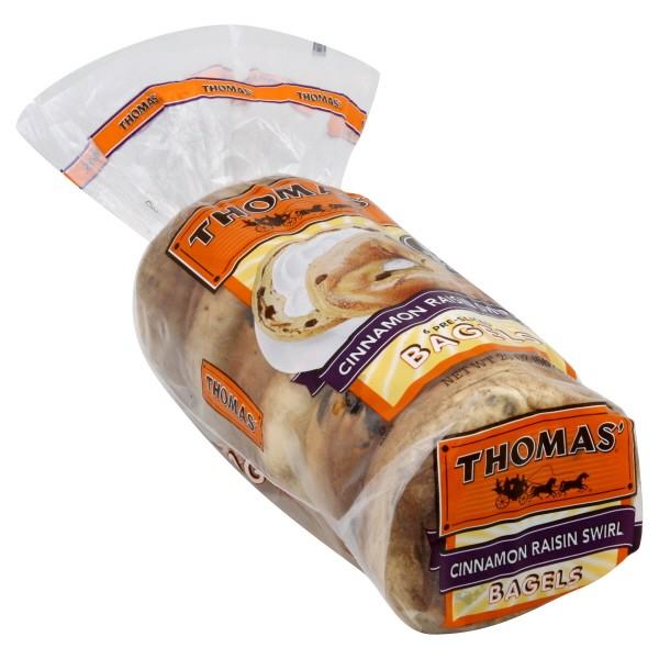 Thomas39 Bagels Cinnamon Raisin 6 ct