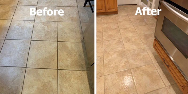 grout cleaning professional tile