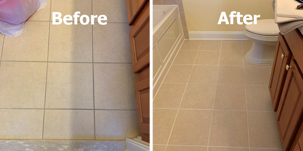 how to steam clean tile floors and grout
