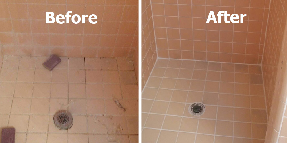 to regrout my shower