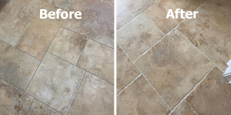 regrouting services professional