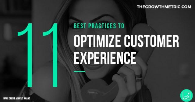 11 ways to optimize customer experience