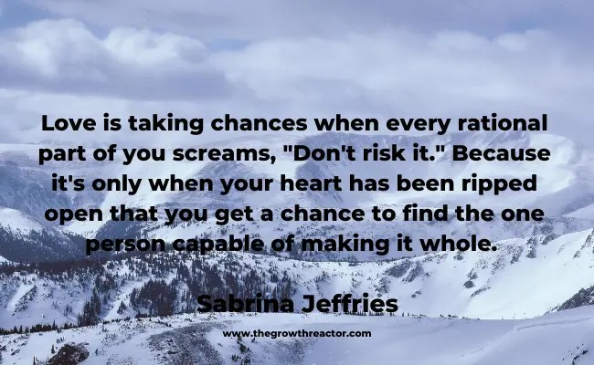 taking a chance quotes