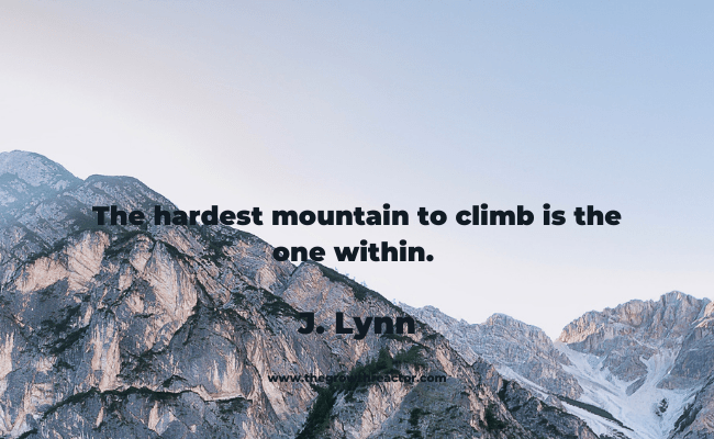 quotes about mountains