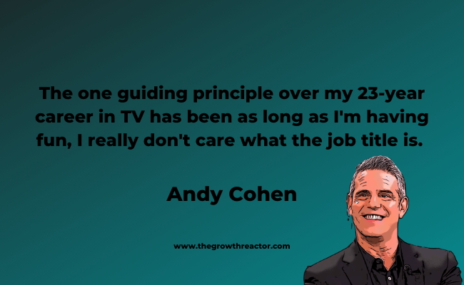 andy cohen quotes