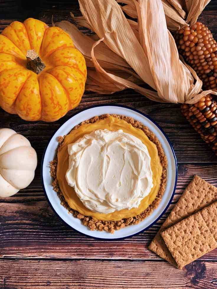 Pumpkin Ganache Pie