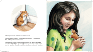 from Jeannie Houdini, A Hamster's Tale