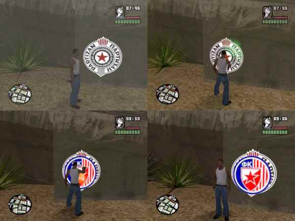 The GTA Place - Red Star Spray Tags 1.0