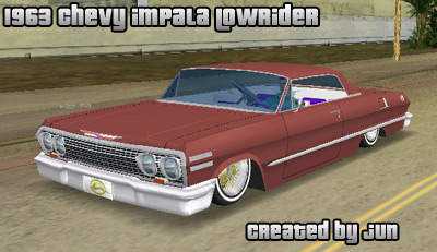 The GTA Place 1963 Chevrolet Impala Lowrider