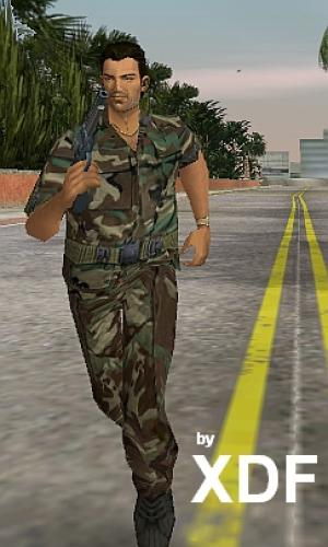 The GTA Place Army Skin