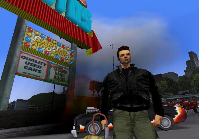 The GTA Place GTA III PS2 Screenshots