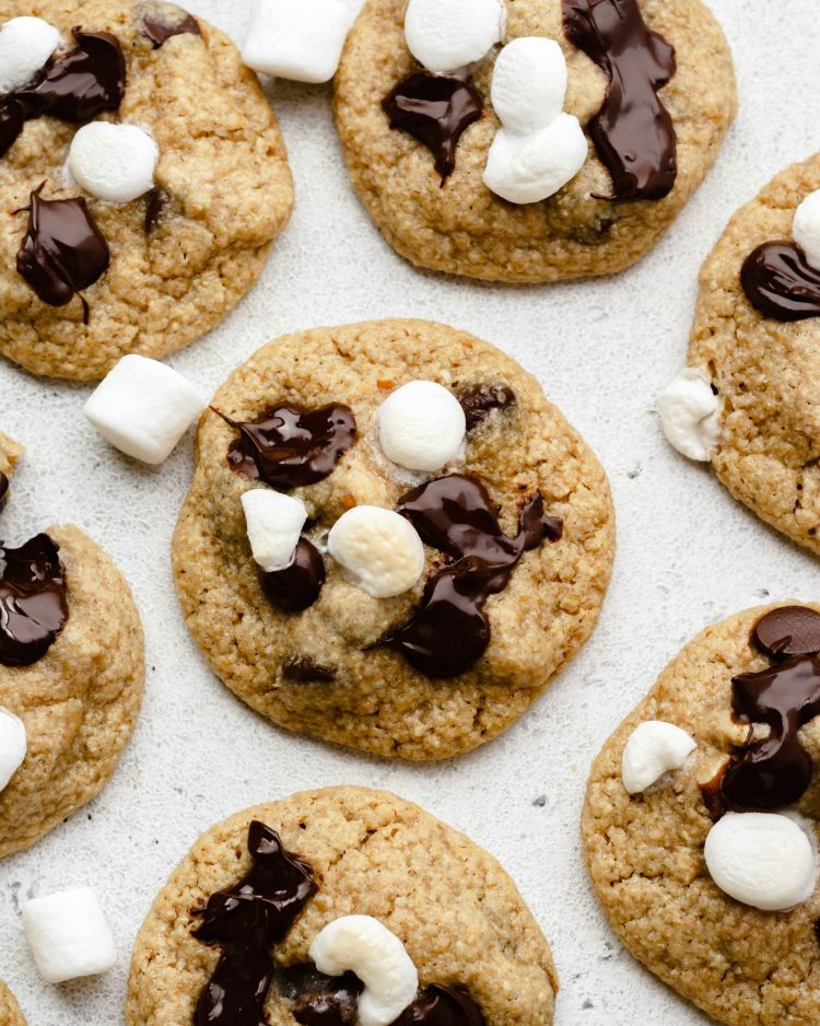 s'mores cookies chocolate