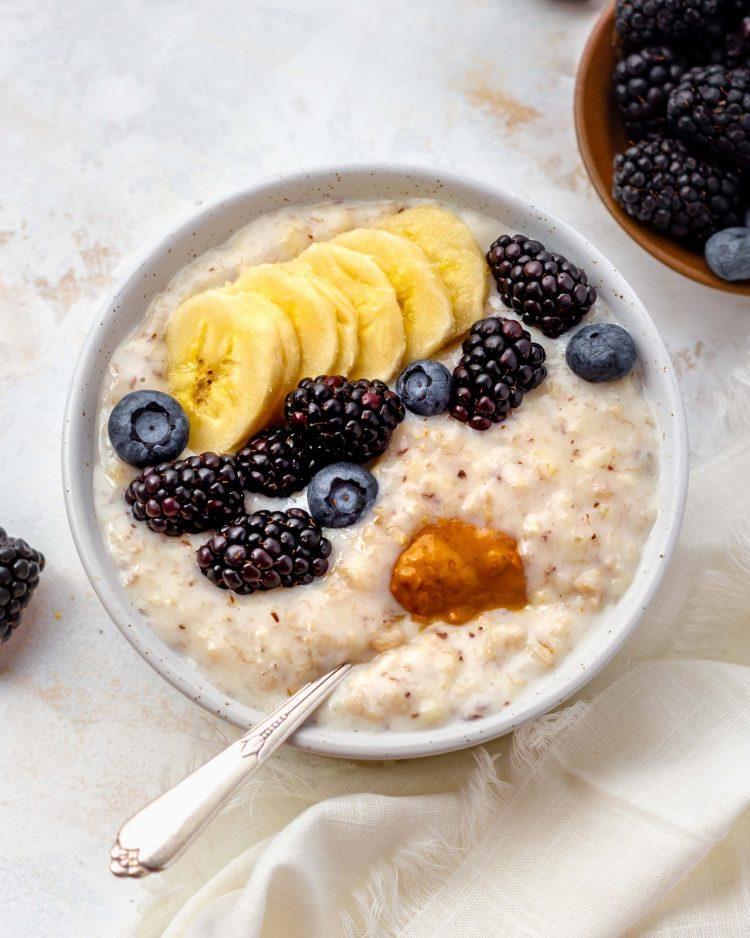 creamy oats porridge
