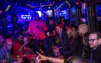 renting a party bus