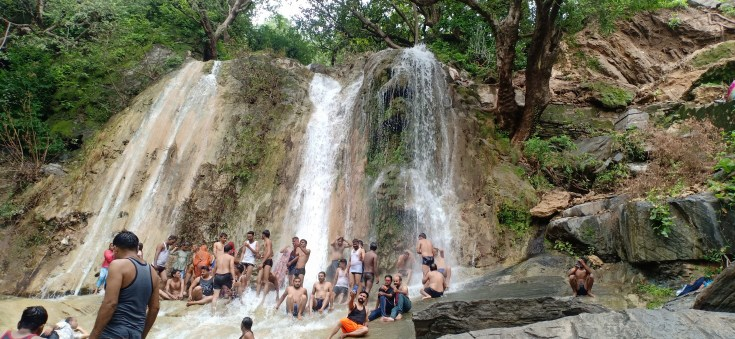 Jogmandi Water Fall (Goram Ghat)