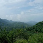 View taken from a point towards Goraknath Temple