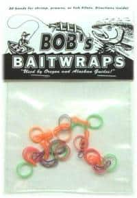 Mixed color Bob's Bait Wraps