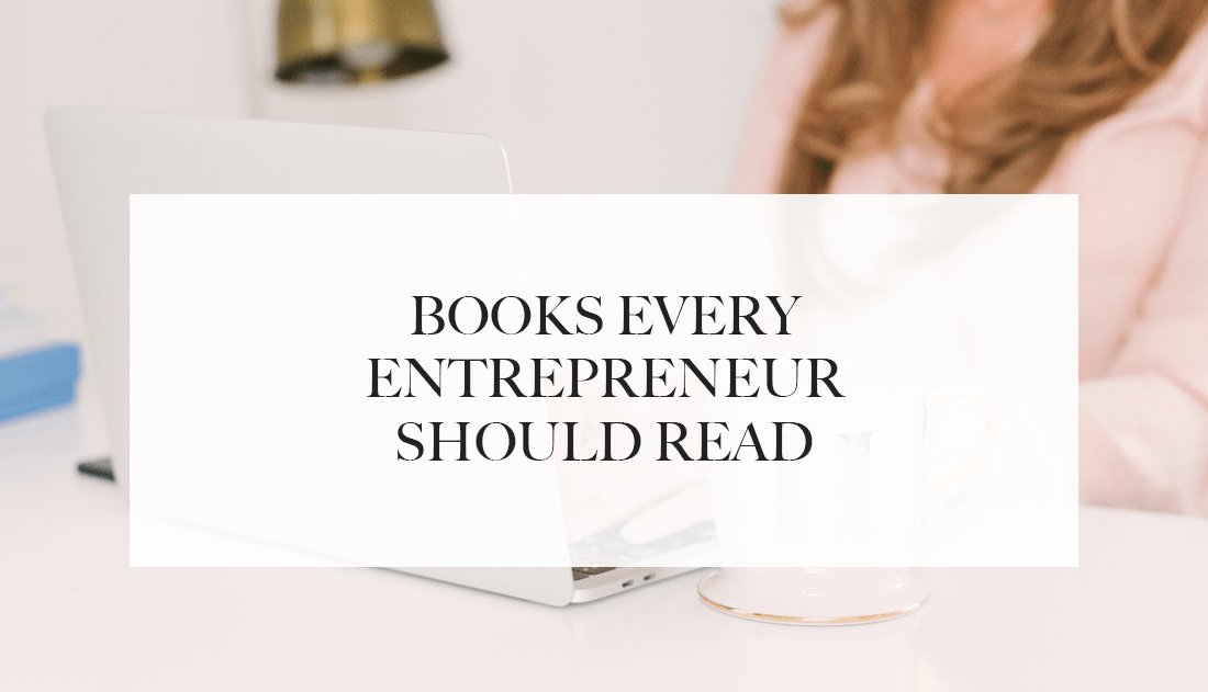 books every entrepreneur should read