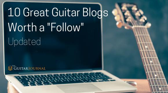 10 Great Guitar Blogs Worth a Follow
