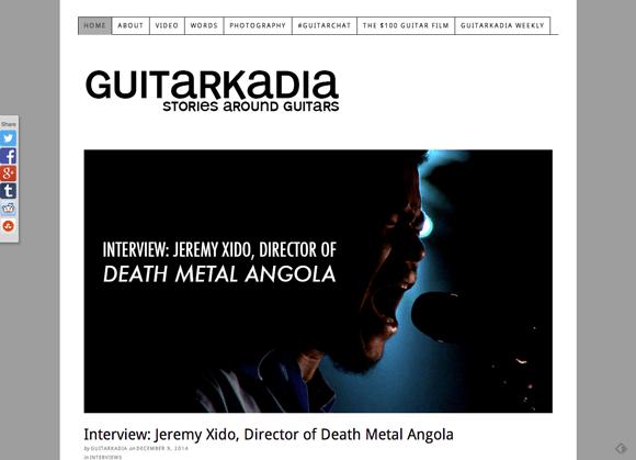 Guitarkadia.com blog