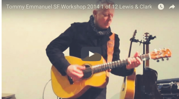 Binge-Watch Some Tommy Emmanuel: Complete San Francisco Workshop 2014