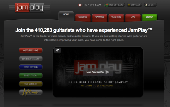 JamPlay Guitar Lessons
