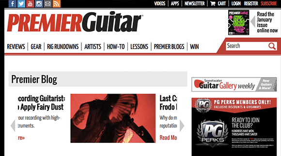 Premier Guitar Blog