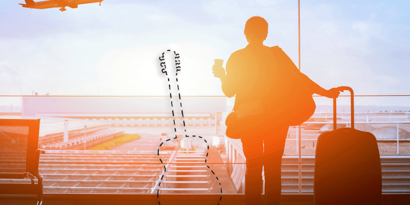 Practice Guitar While Traveling