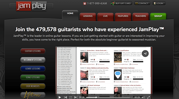 Learn Guitar with JamPlay---The-Top-5-Beginner-Guitar-Lessons-Series
