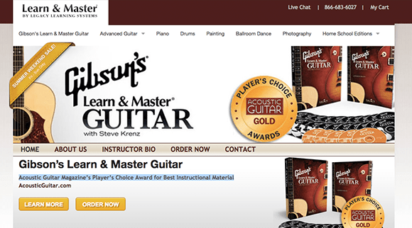Learn Guitar with LearnAndMaster---The-Top-5-Beginner-Guitar-Lessons-Series