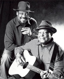 Top 25 Contemporary Acoustic Blues Guitarists - Cephas & Wiggins