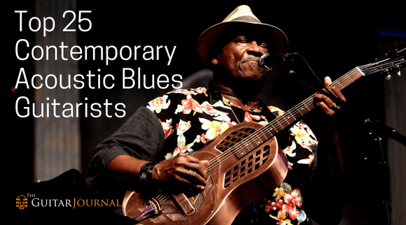 Top 25 Contemporary Acoustic Blues Guitarists - The Guitar
