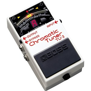 Boss TU3 Chromatic Tuner Pedal