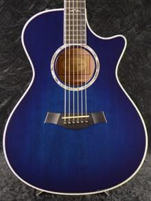 Blue Taylor 612-CE