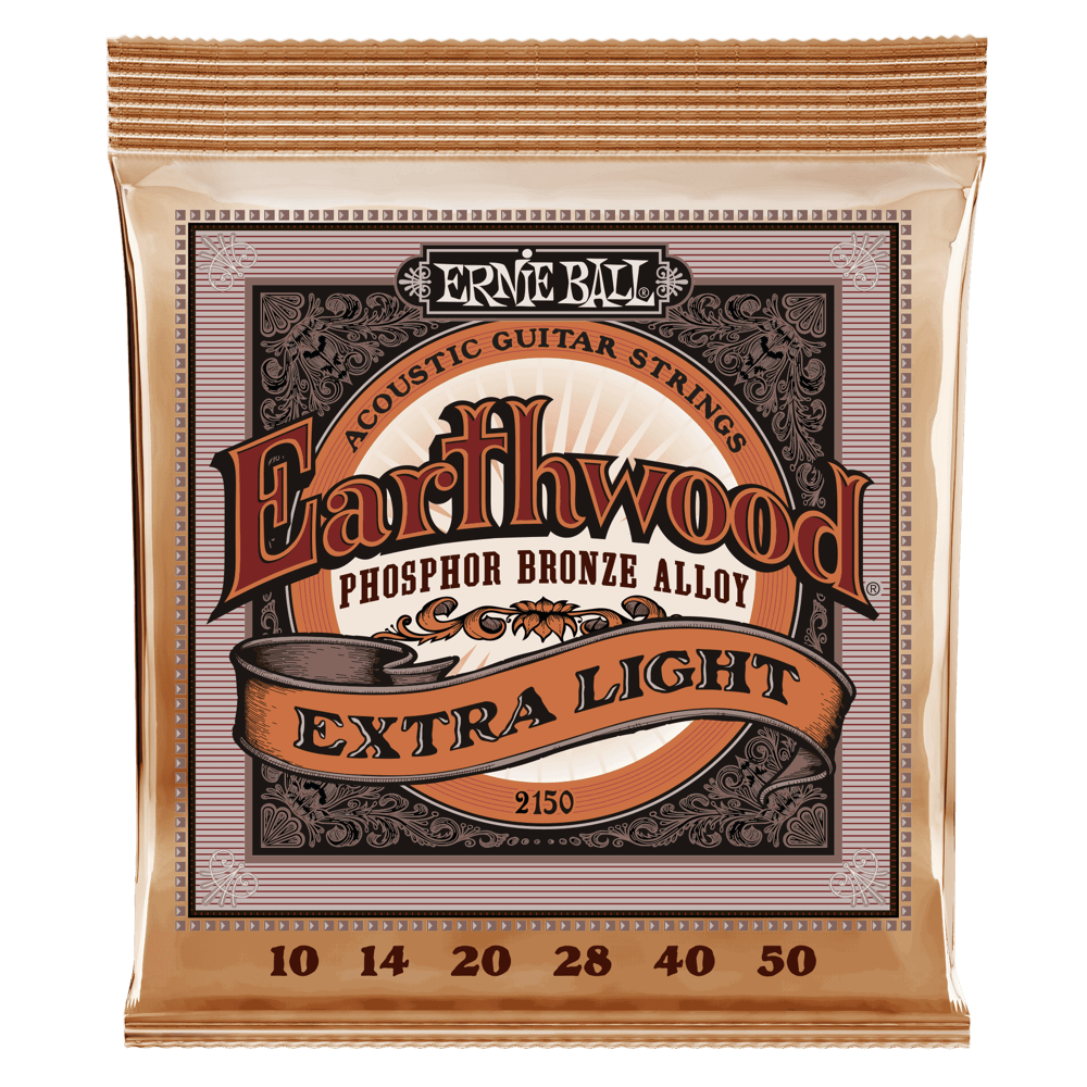 Product Image of Ernie Ball 2146 Earthwood Medium Light Acoustic Phosphor Bronze String Set (12 - 54)