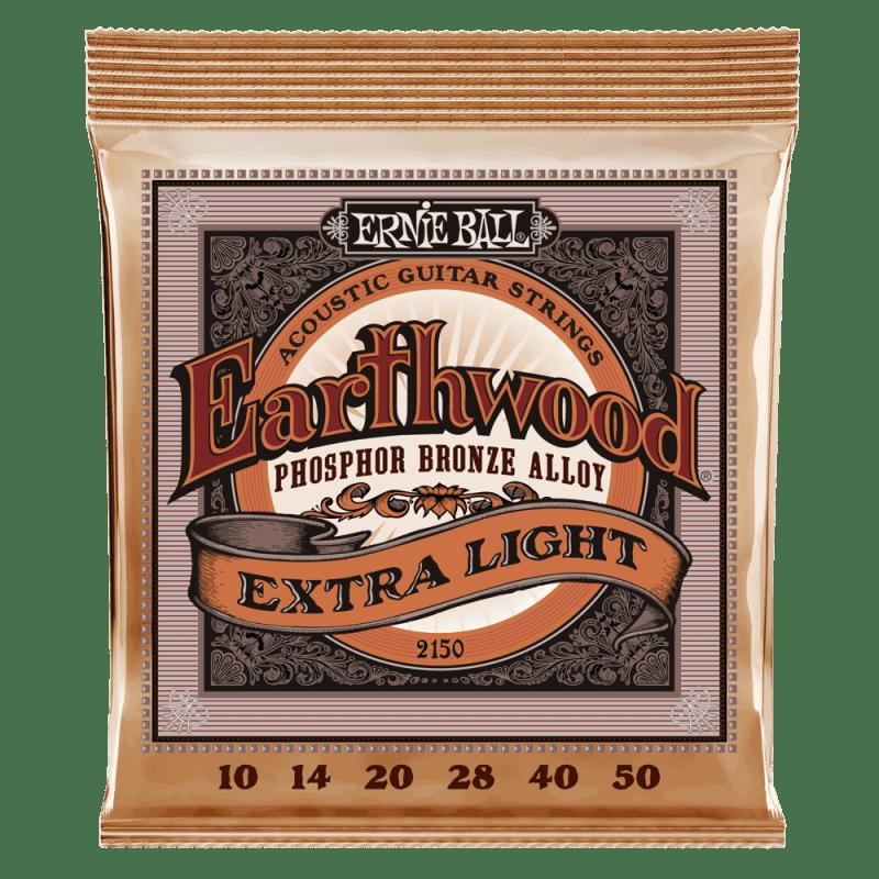 Product Image of Ernie Ball 2146 Earthwood Medium Light Acoustic Phosphor Bronze String Set (12 - 54)